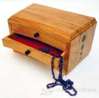 2269-Jewelry Chest Plans