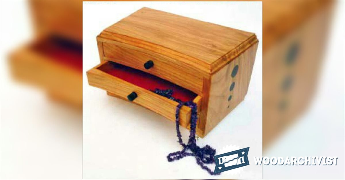 Innovative Share Plans On How To Build A Jewelry Box  Made Project By Wood