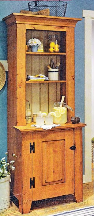 2270-Stepback Cupboard Plans