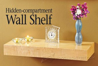 2271-Wall Shelf Plans