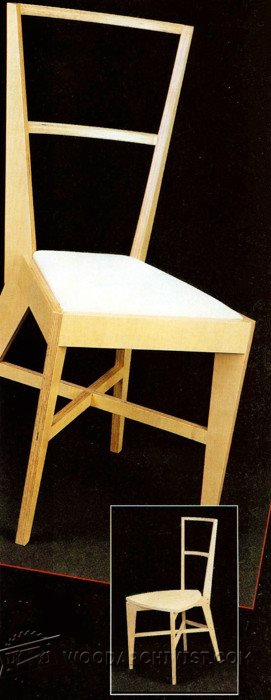 2272-Plywood Chair Plans