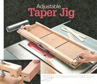 2273-Adjustable Taper Jig Plans