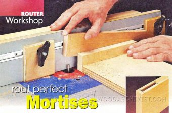2274-Cutting Mortises on Router Table