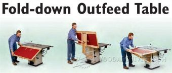 2281-Build Table Saw Outfeed Table