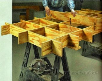 2283-Plywood Cutting Table Plans