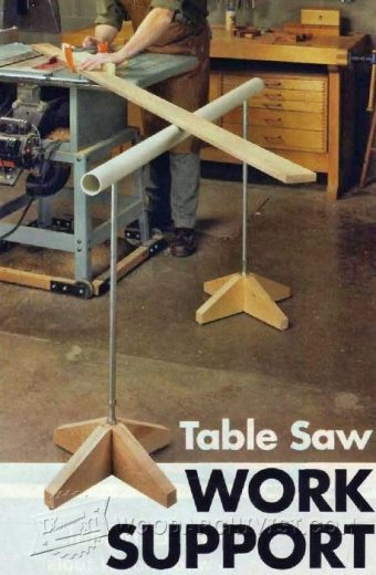 2298-Table Saw Work Support