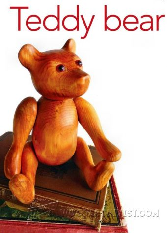2306-Carving Teddy Bear  - Wood Carving Patterns