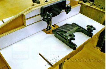 2310-Making Router Table Top