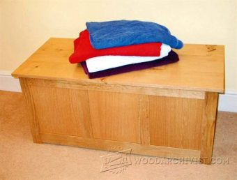 2312-Blanket Chest Plan