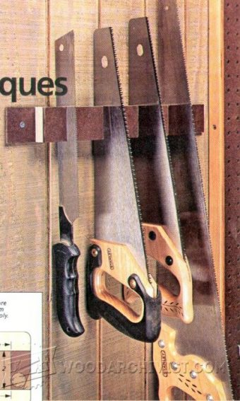 2315-DIY Handsaw Holder