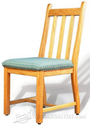 2320-Dining Room Chair Plans