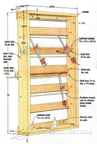 2325-Glue Up Rack