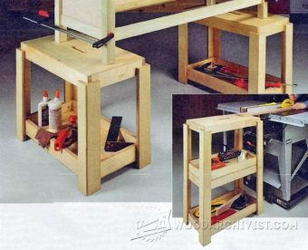 2331-Workshop Stacking Stools