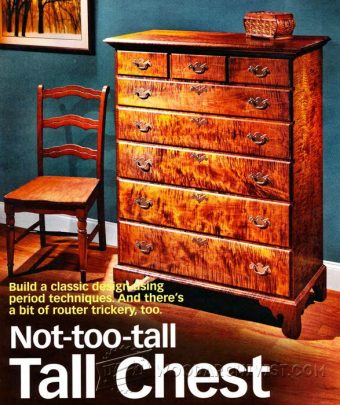 2337-Tall Chest of Drawers Plans