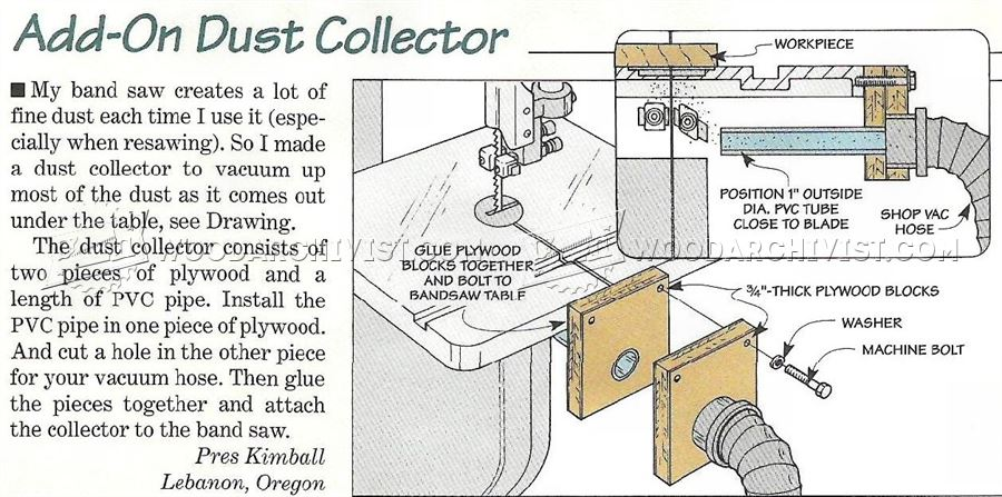 Bandsaw Dust Collection