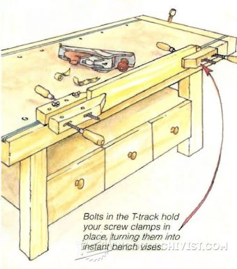 2350-Instant Workbench Vise