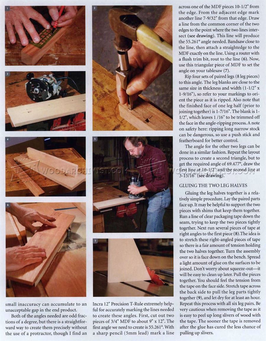 #2356 Small Table Plans