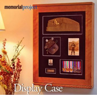 2357-Memorial Display Case Plans