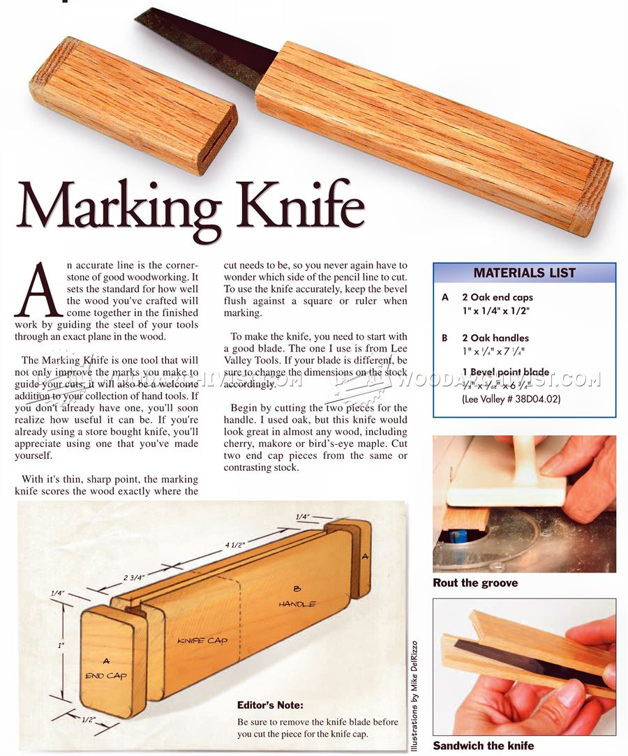 Making Knife