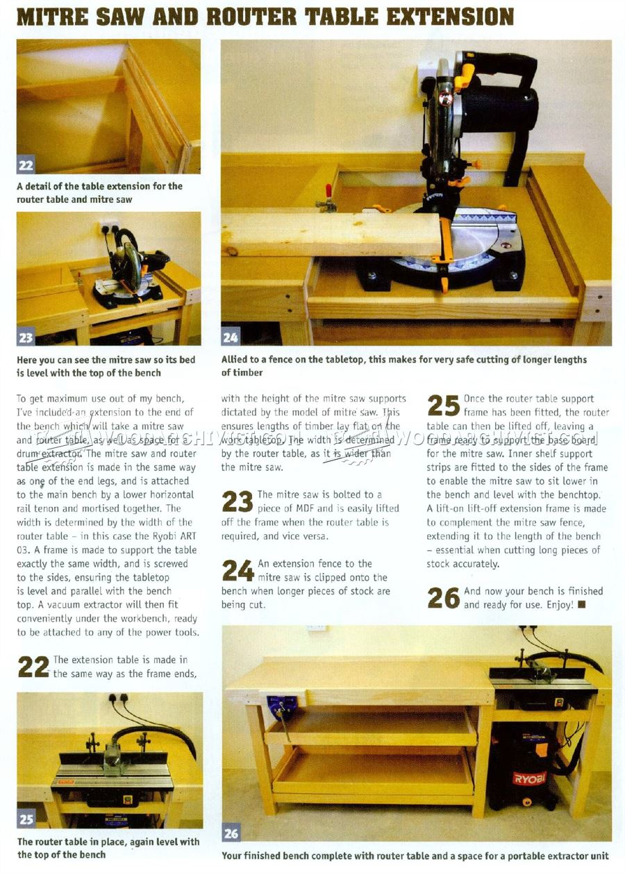 #2362 Space Saning Workbench Plans