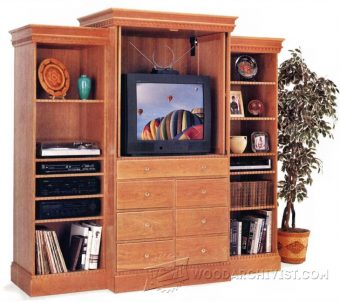 2368-Entertainment Center Plans