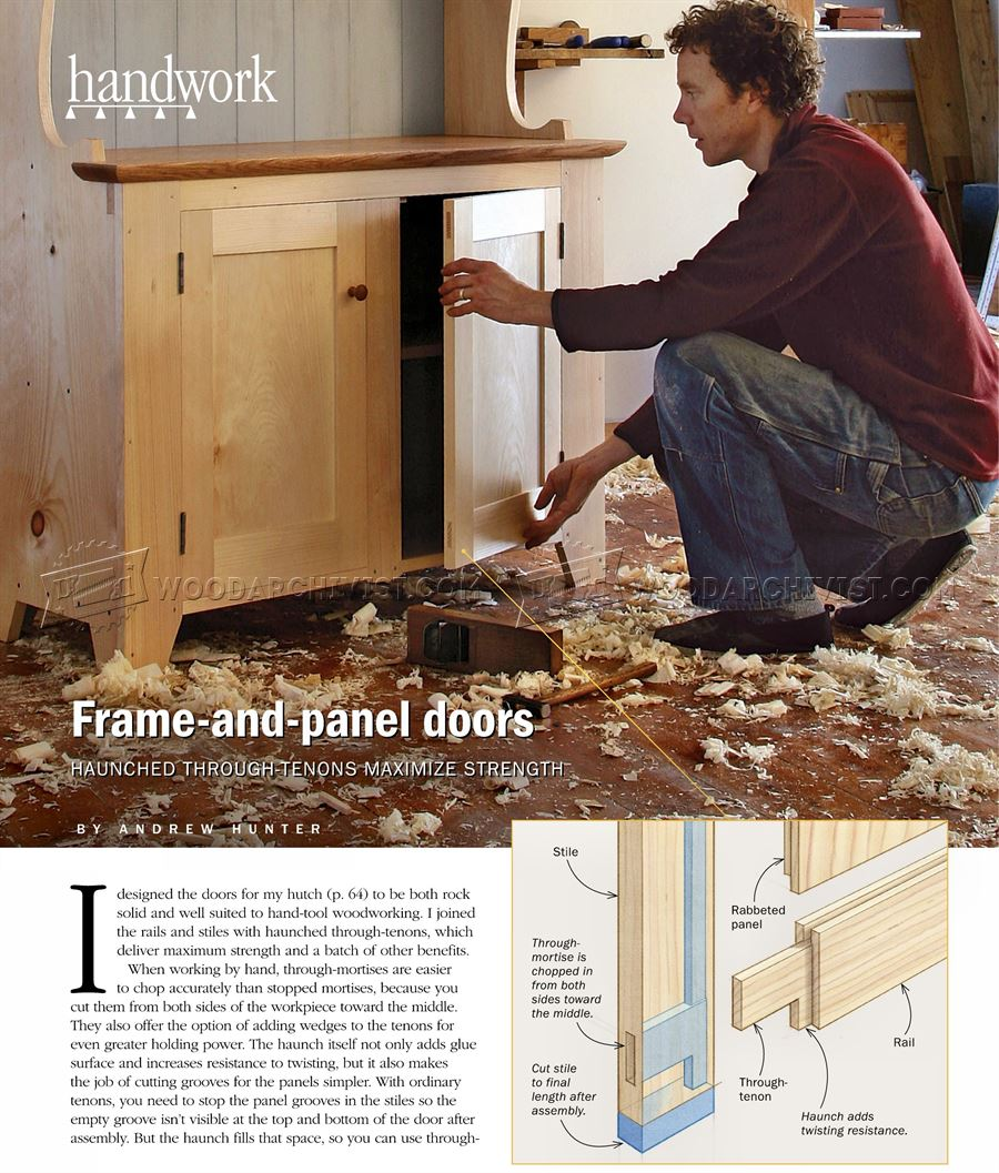 #2371 Making Frame and Panel Doors