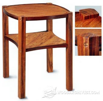 2377-Occasional Table Plans