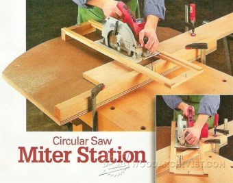 2380-Circular Saw Crosscut and Miter Jig