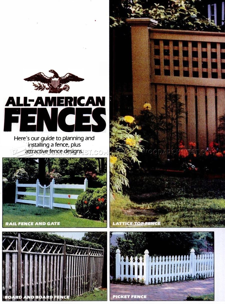 Building Wood Fence