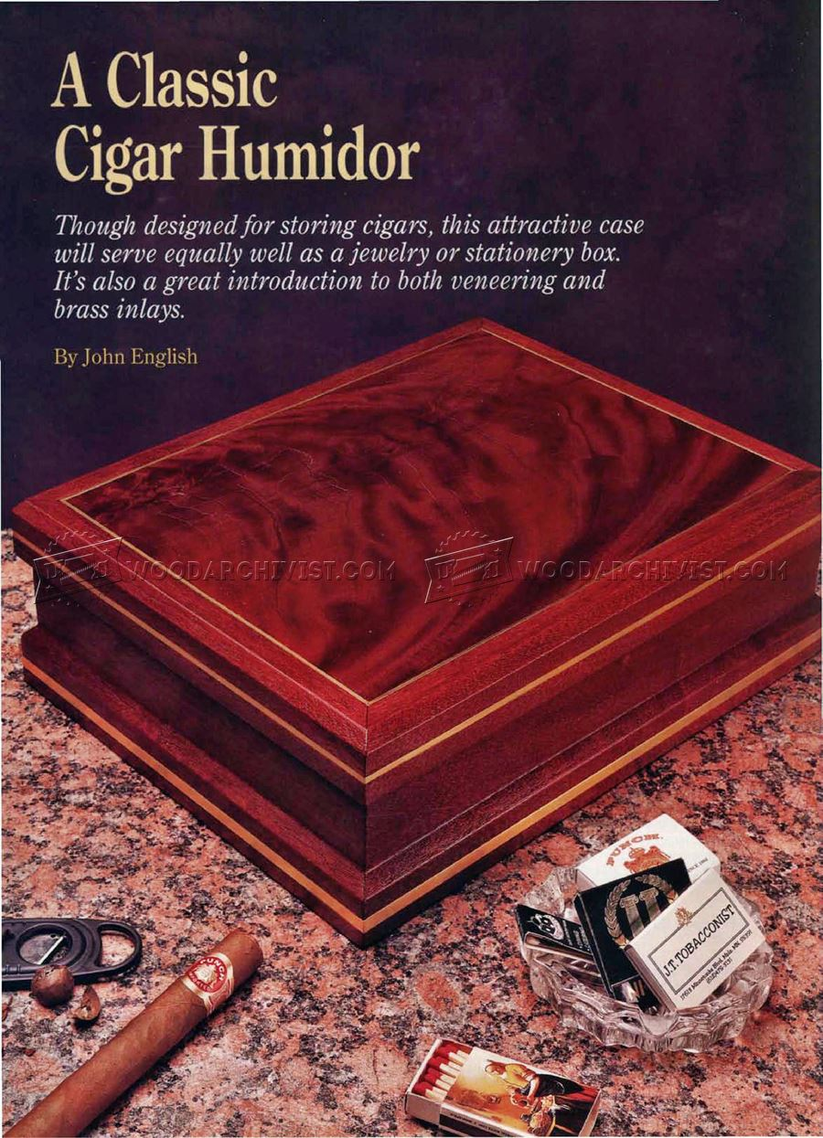 Making Cigar Humidor