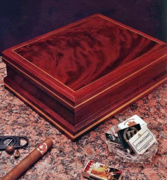 2384-Making Cigar Humidor