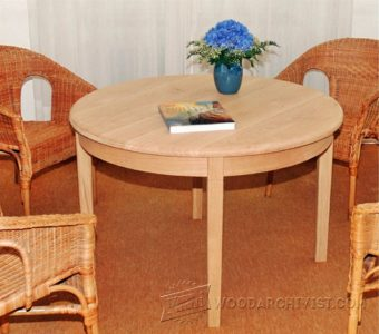 2386-Round  Table Plans