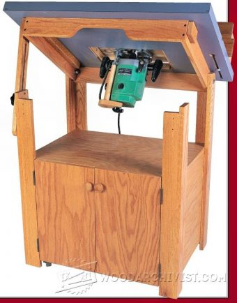 2404-Tilt Top Router Table Plans