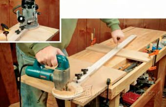 2406-Router Circle Cutting Jig Plans