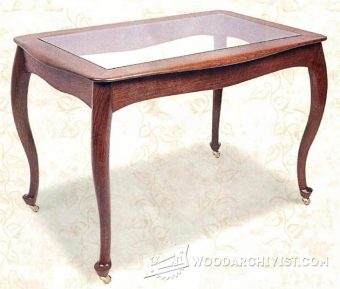 2407-Rolling Tea Table Plans