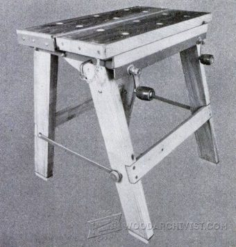 2408-Foldable Workbench Plans