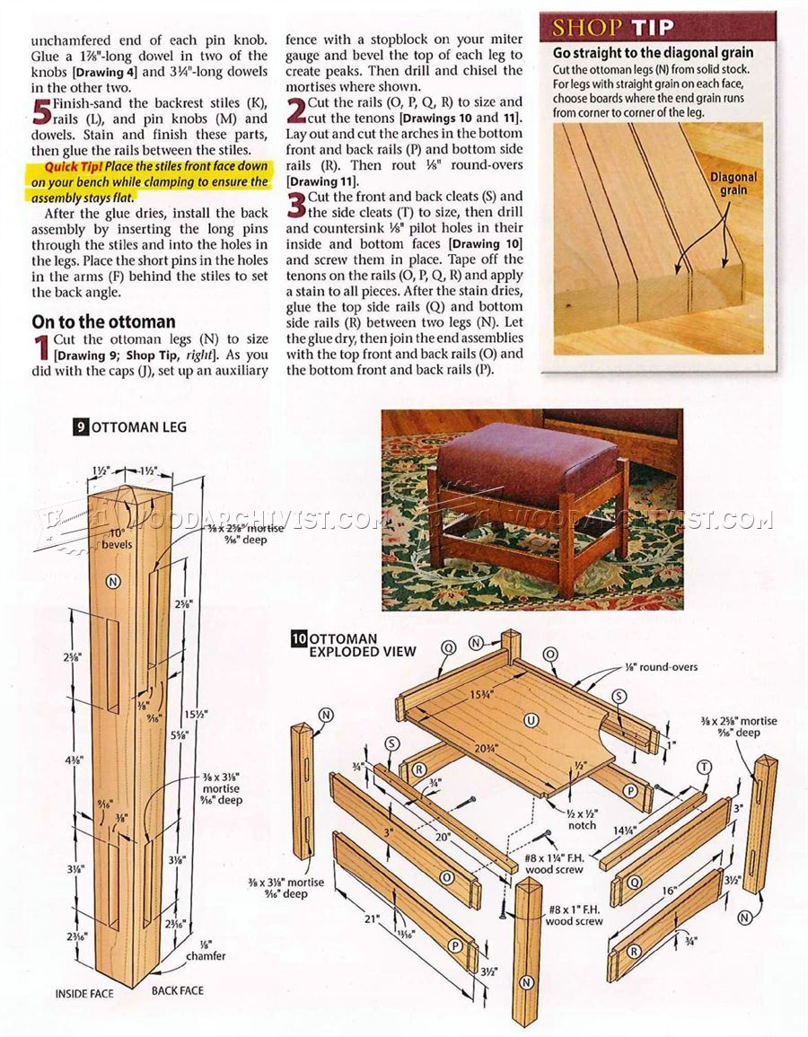Book Of Ottoman Woodworking Plans In Australia By William ...