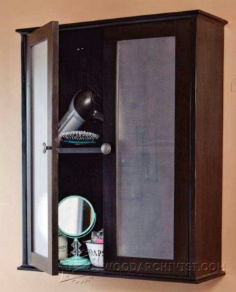 2413-Bathroom Wall Cabinet Plans