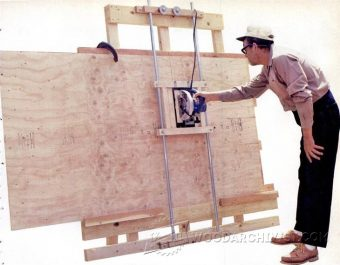 2418-DIY Vertical Panel Saw