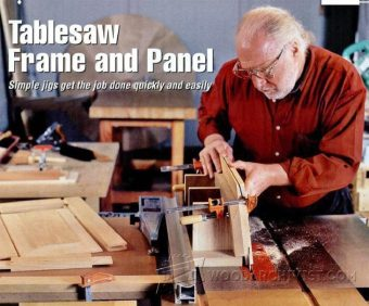 2419-Frame and Panel on Table Saw