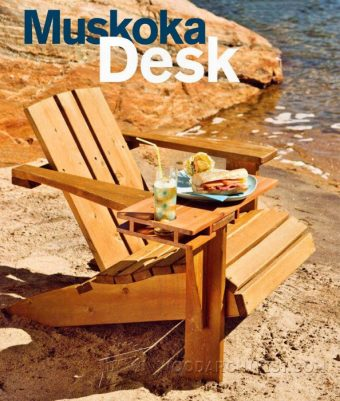 2420-Making Adirondack Chair Desk