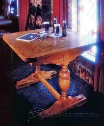 2422-English Pub Table Plans