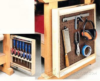 2425-Workbench Tool Rack