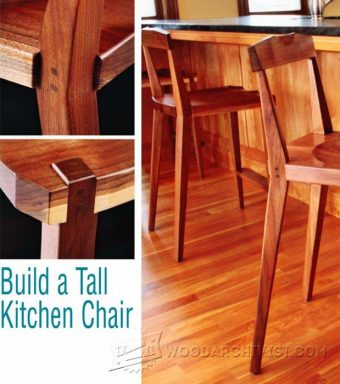 2426-Kitchen Chair Plans