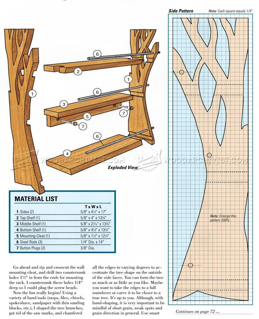 Wooden Spice Rack Plans WoodArchivist : 2432 Wooden Spice Rack Plans 3 from woodarchivist.com size 900 x 1108 jpeg 181kB