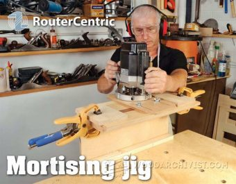 2433-Router Mortising Jig Plans
