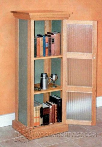 2434-Chimney Cupboard  Plans