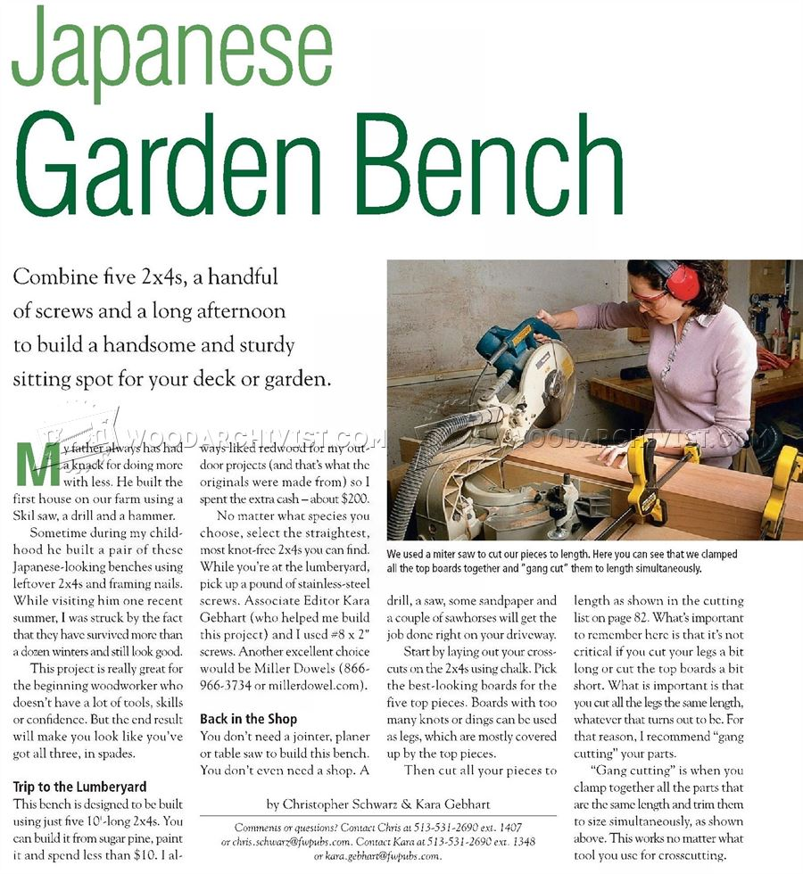 Awesome Japanese Garden Bench Plans Japanese Garden Bench Plans