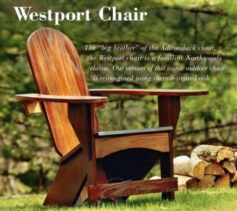 2436-Westport Chair Plans