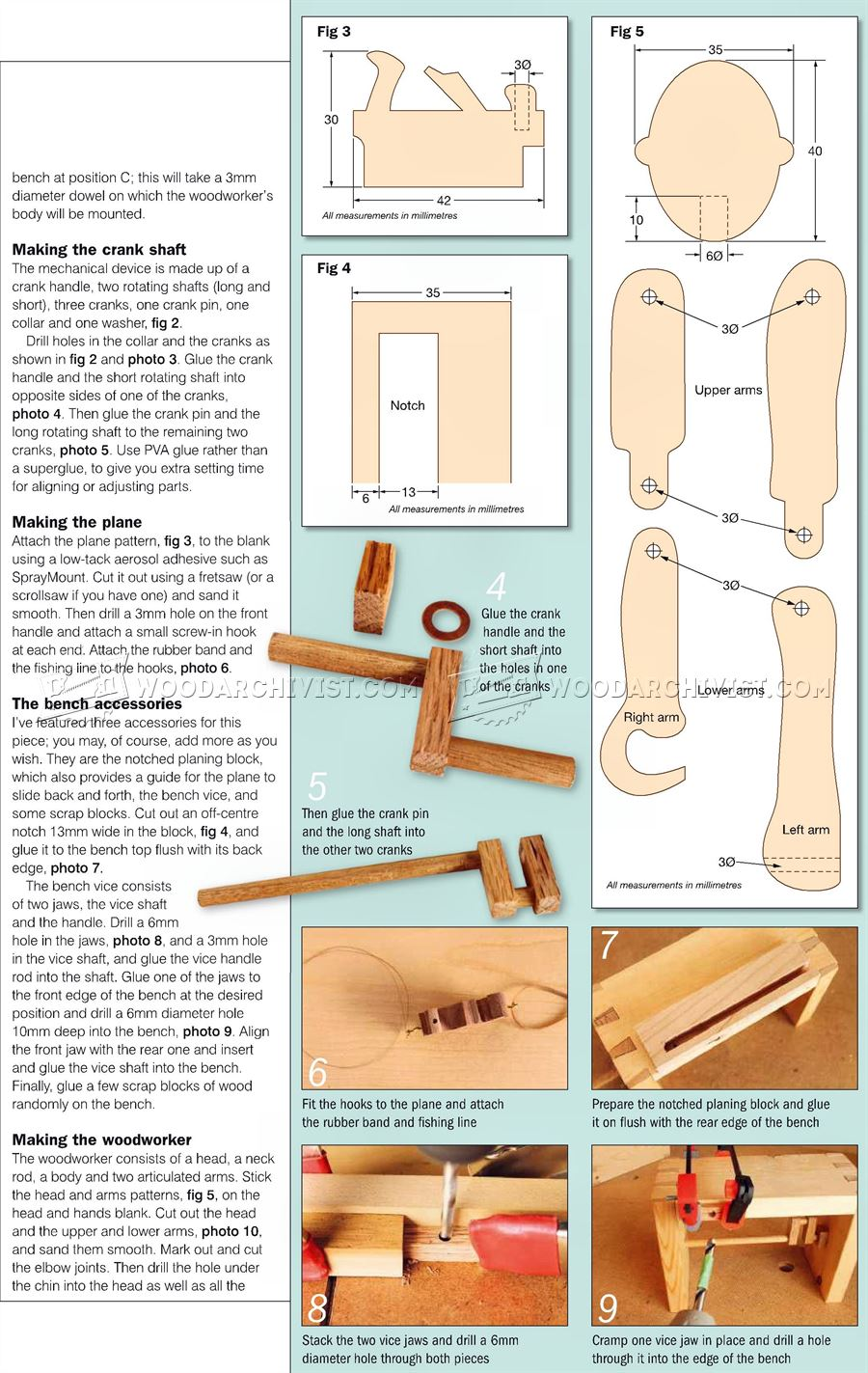 Woodworker - Automata Toy Plans